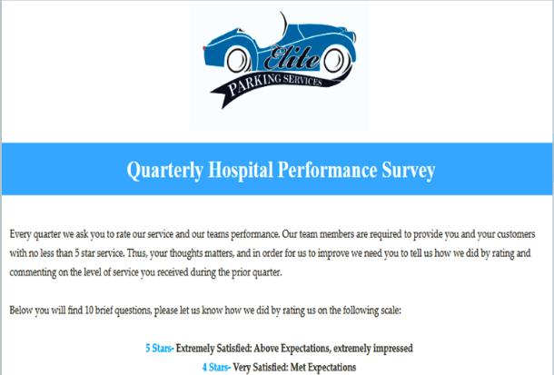 Image of elite client survey